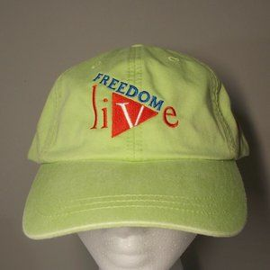 ADAMS cool-crown cap Green Freedom Live Entertainm